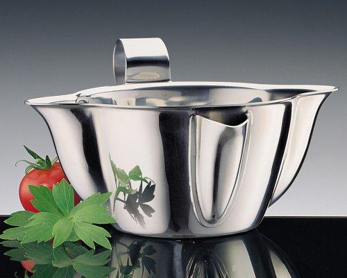 Küchenprofi Sauciere Fetttrennkanne Fetttrenner 0,2cl. Fett-/Mager- ER 18/10